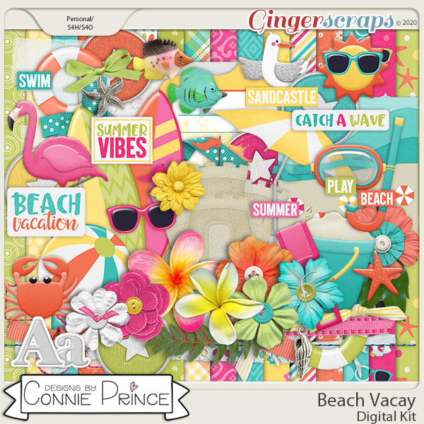 Beach Vacay - Kit by Connie Prince