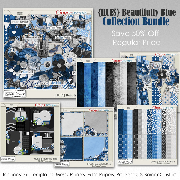 {HUES} Beautifully Blue - Bundle