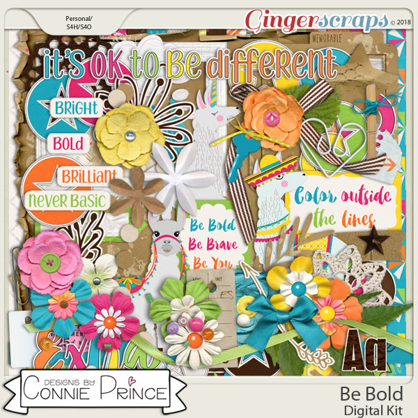 Be Bold - Kit by Connie Prince