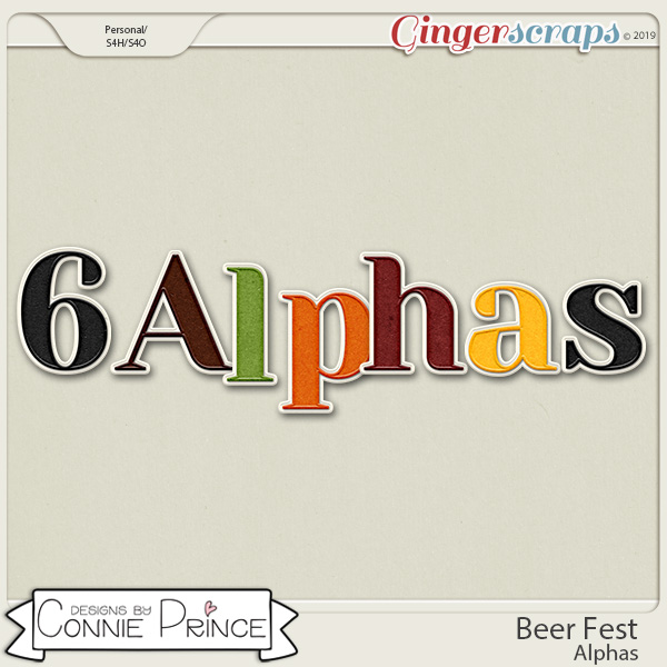 Beer Fest - Alpha Pack AddOn by Connie Prince