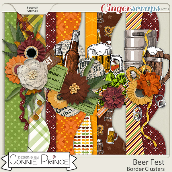 Beer Fest - Borders by Connie Prince