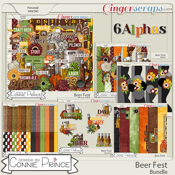 Beer Fest - Bundle by Connie Prince