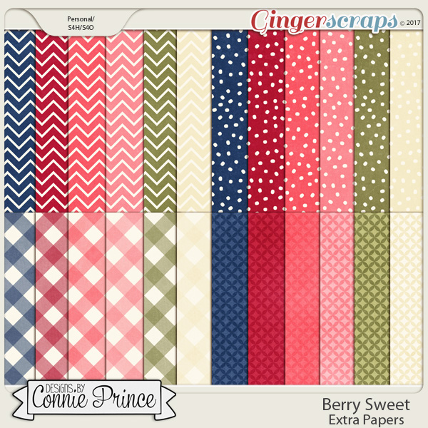 Berry Sweet - Extra Papers