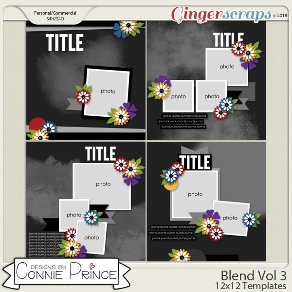 Blend Volume 3 - 12x12 Temps (CU Ok) by Connie Prince