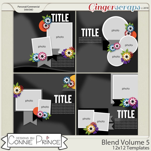 Blend Volume 5 - 12x12 Temps (CU Ok) by Connie Prince
