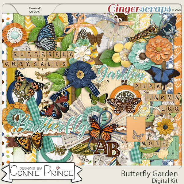 Butterfly Garden - Kit by Connie Prince