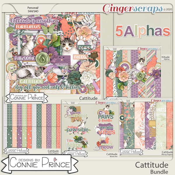 Cattitude - Bundle by Connie Prince