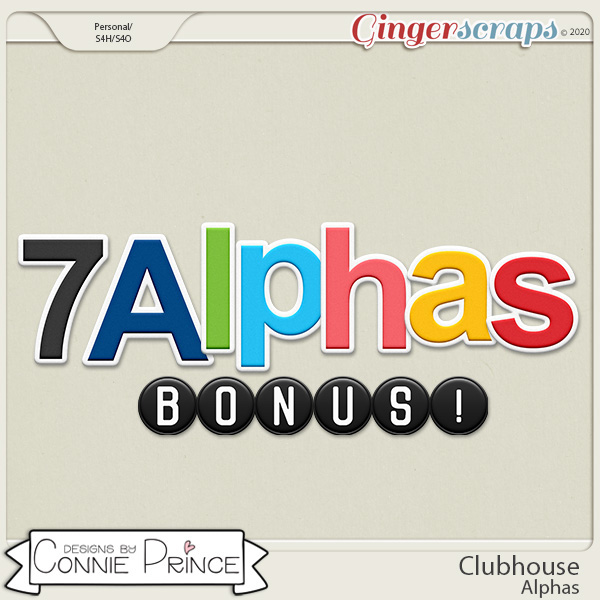 Clubhouse - Alpha Pack AddOn by Connie Prince