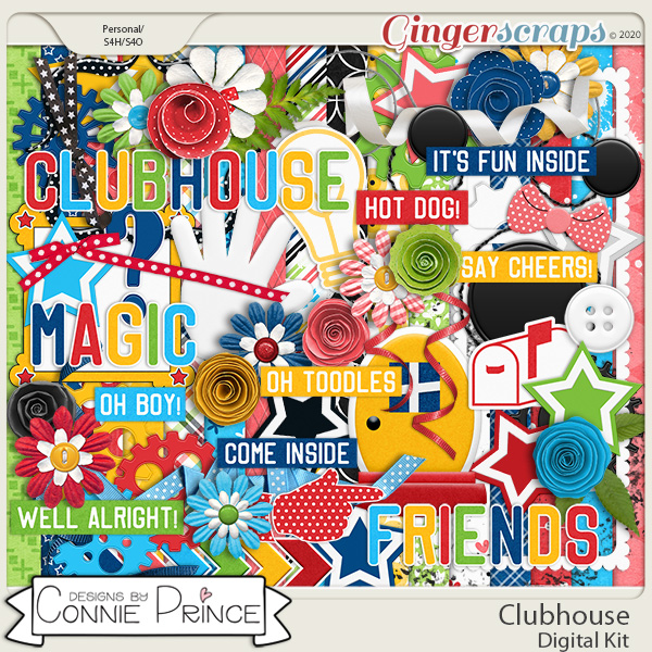 Clubhouse - Kit by Connie Prince