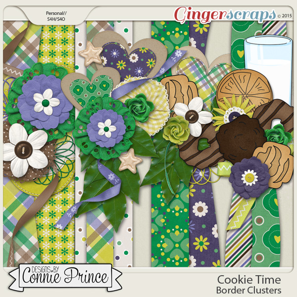 Cookie Time - Border Clusters