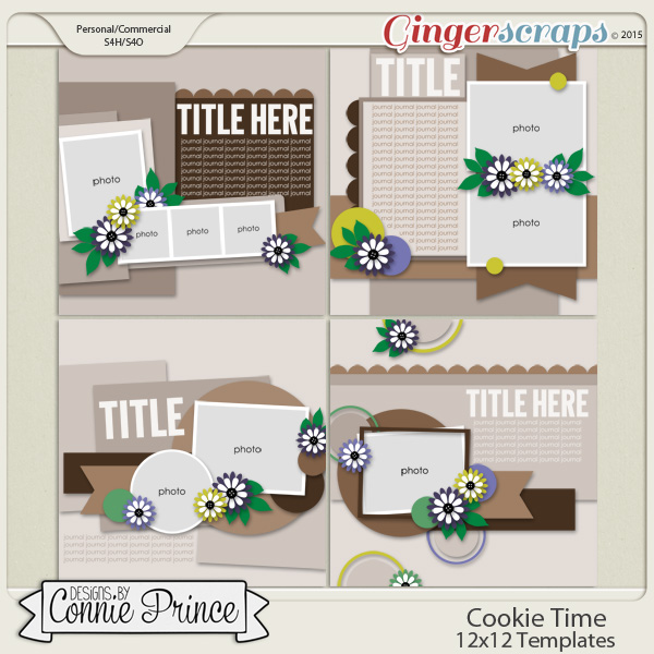 Cookie Time - 12x12 Temps (CU Ok)