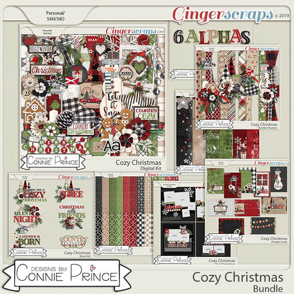 Cozy Christmas - Bundle by Connie Prince