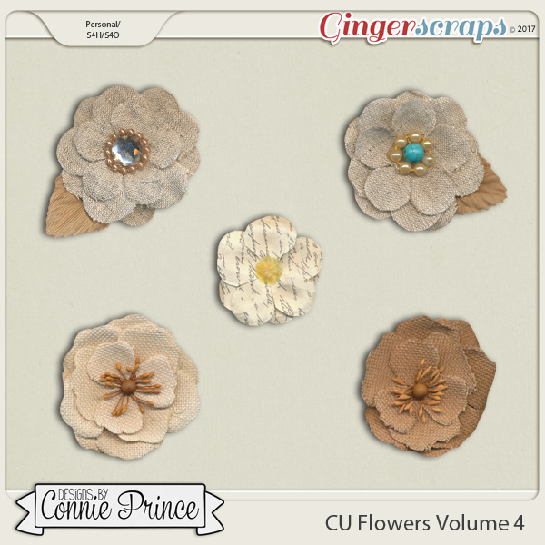 Commercial Use Flowers Volume 4