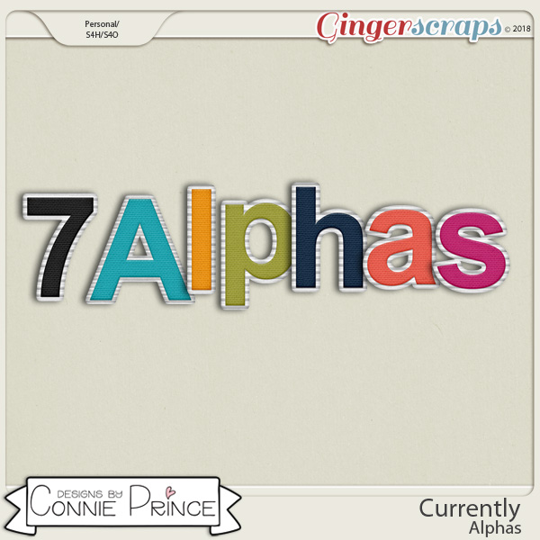 Currently - Alpha Pack AddOn by Connie Prince