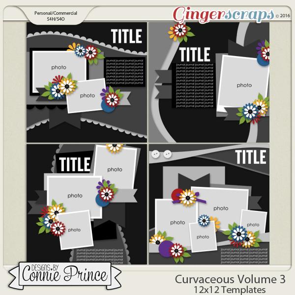 Curvaceous Volume 3 - 12x12 Temps (CU Ok)