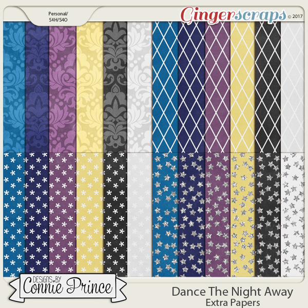 Dance The Night Away - Extra Papers