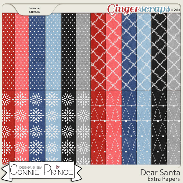 Dear Santa - Extra Papers by Connie Prince