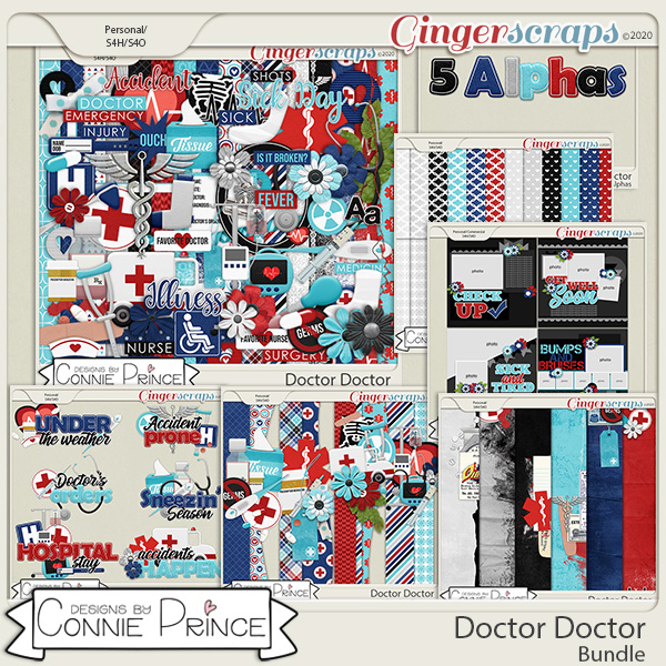 Doctor Doctor - Bundle by Connie Prince
