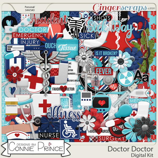 Doctor Doctor - Kit by Connie Prince