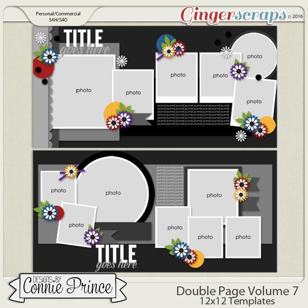 Double Page Volume 7 - 12x12 Temps (CU Ok)