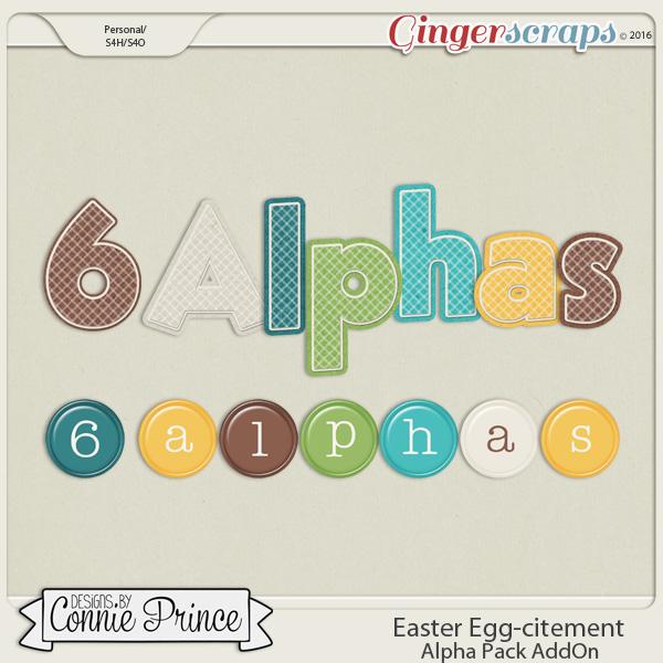 Easter Egg-citement - Alpha Pack AddOn