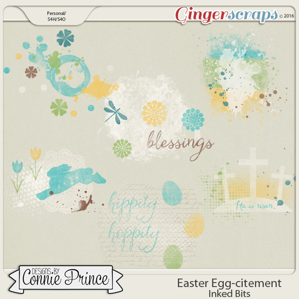 Easter Egg-citement - Inked Bits