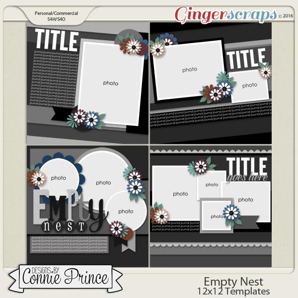 Empty Nest - 12x12 Templates (CU Ok)