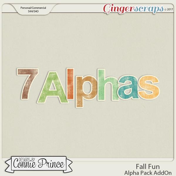 Fall Fun - Alpha Pack AddOn