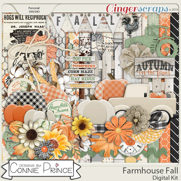 Farmhouse Fall - Kit by Connie Prince