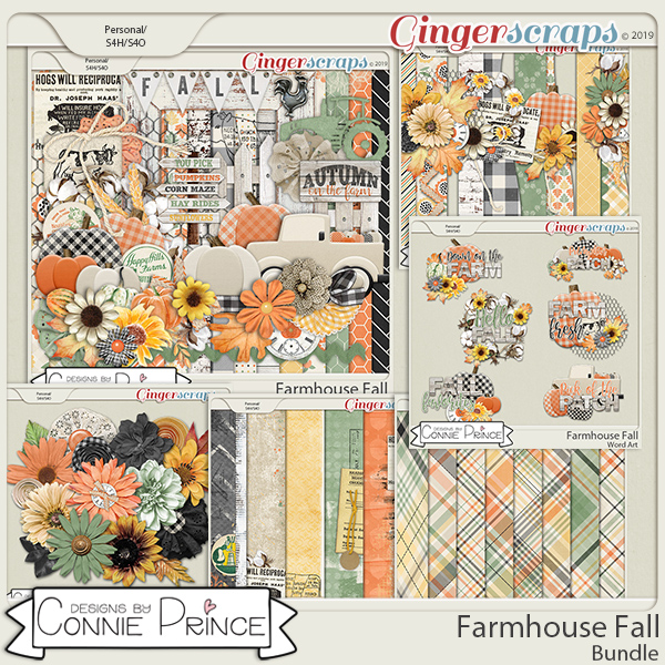 Farmhouse Fall - Bundle by Connie Prince