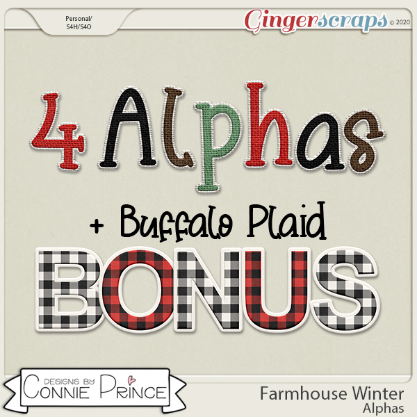Farmhouse Winter - Alpha Pack AddOn by Connie Prince