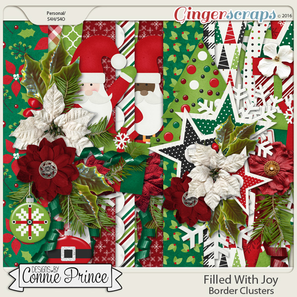 Filled With Joy - Border Clusters