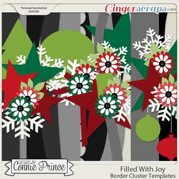 Filled With Joy - Border Cluster Templates (CU Ok)