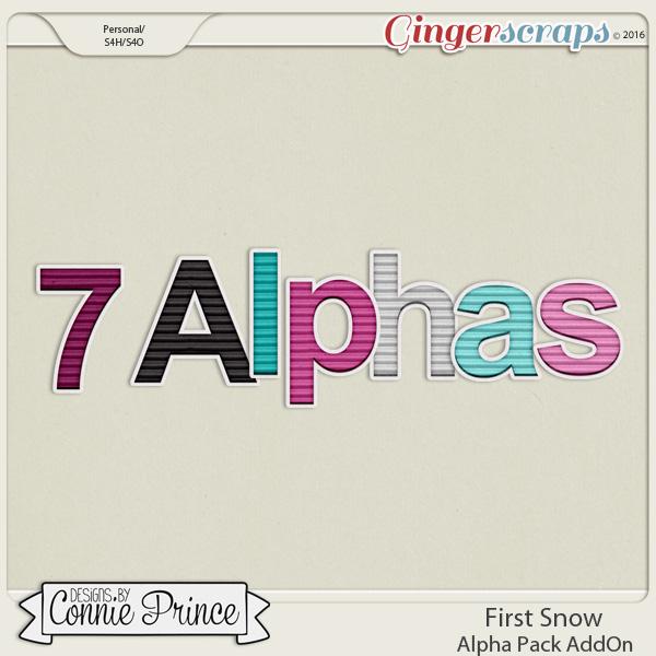 First Snow  - Alpha Pack AddOn