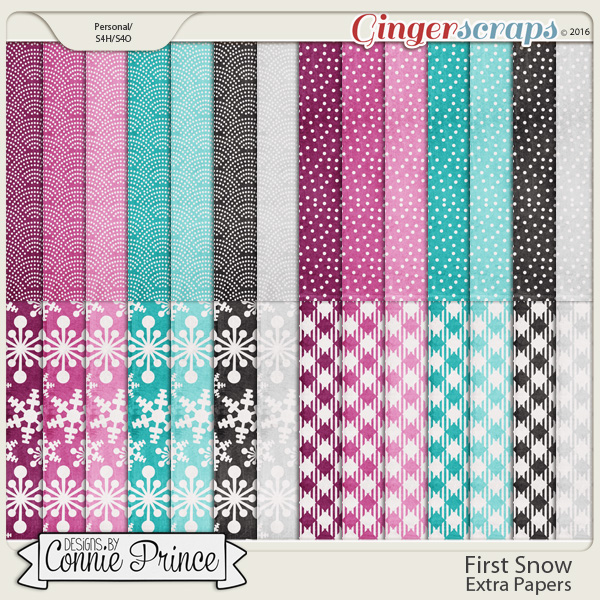 First Snow  - Extra Papers