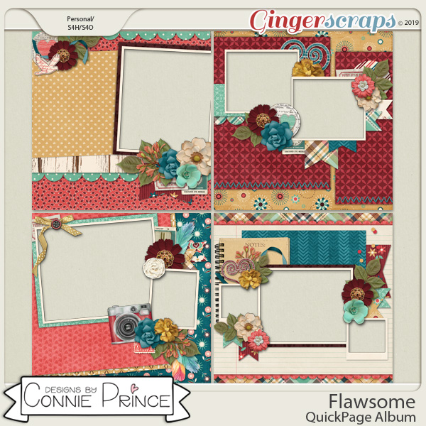 Flawsome - QuickPages by Connie Prince