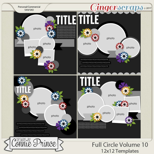 Full Circle Volume 10- 12x12 Temps (CU Ok)