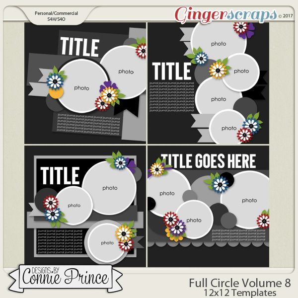 Full Circle Volume 8 - 12x12 Temps (CU Ok)