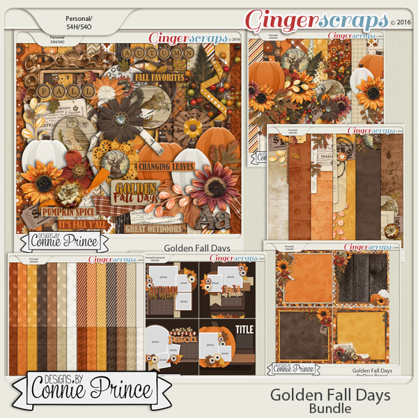 Golden Fall Days - Core Bundle