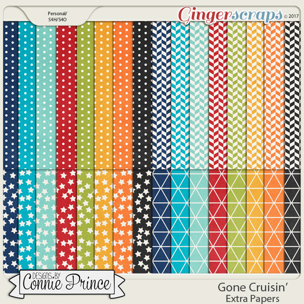 Gone Cruisin' - Extra Papers
