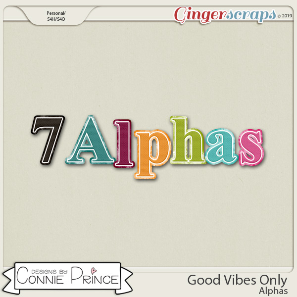 Good Vibes Only - Alpha Pack AddOn by Connie Prince