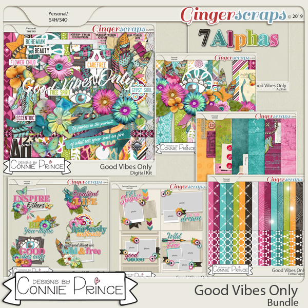 Good Vibes Only - Bundle by Connie Prince