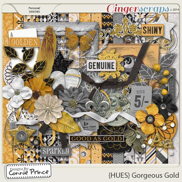 {HUES} Gorgeous Gold - Kit