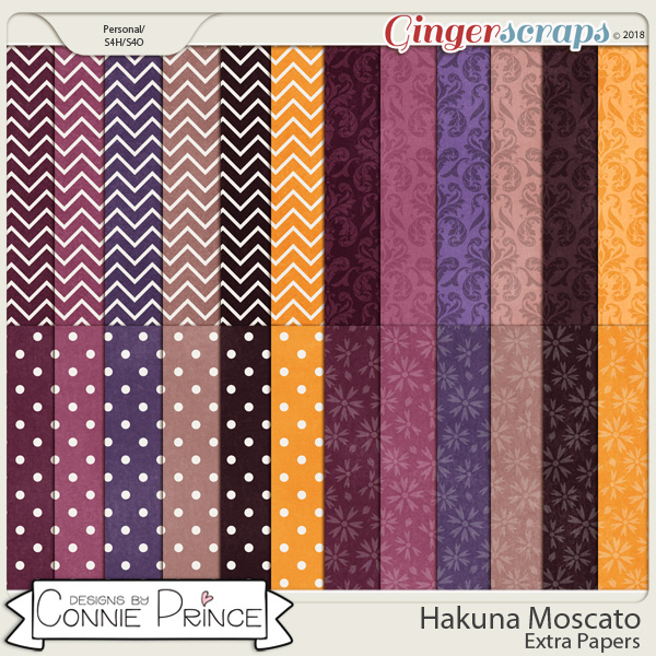 Hakuna Moscato - Extra Papers by Connie Prince