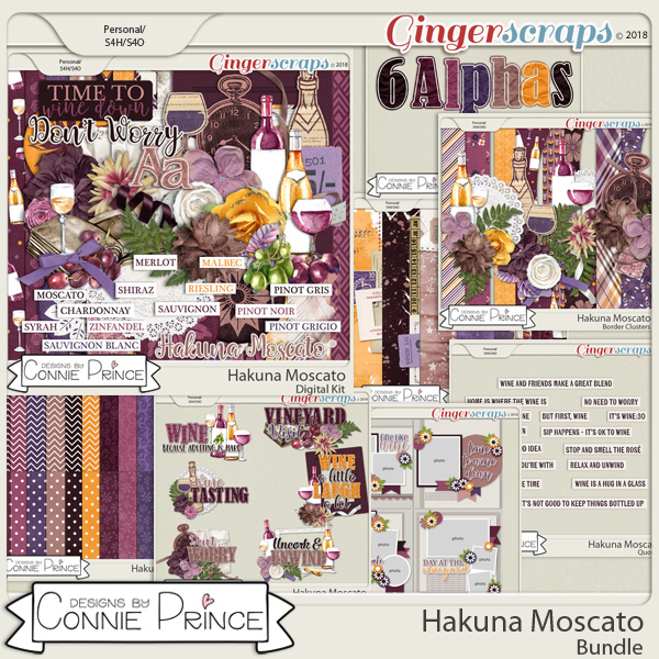 Hakuna Moscato - Bundle by Connie Prince