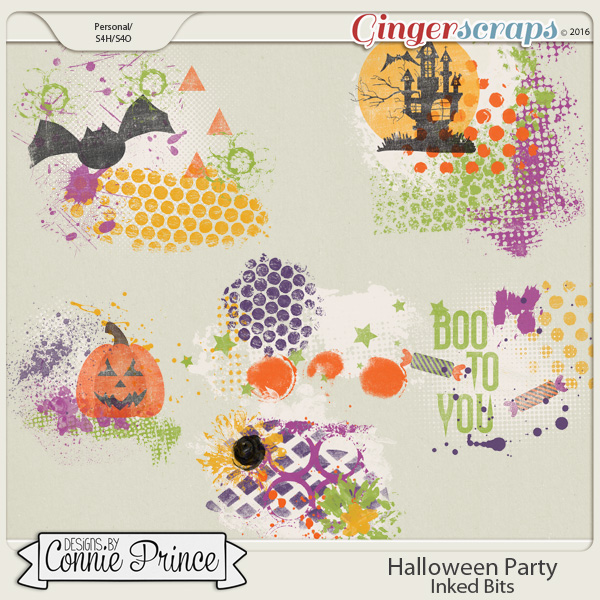 Halloween Party - Inked Bits