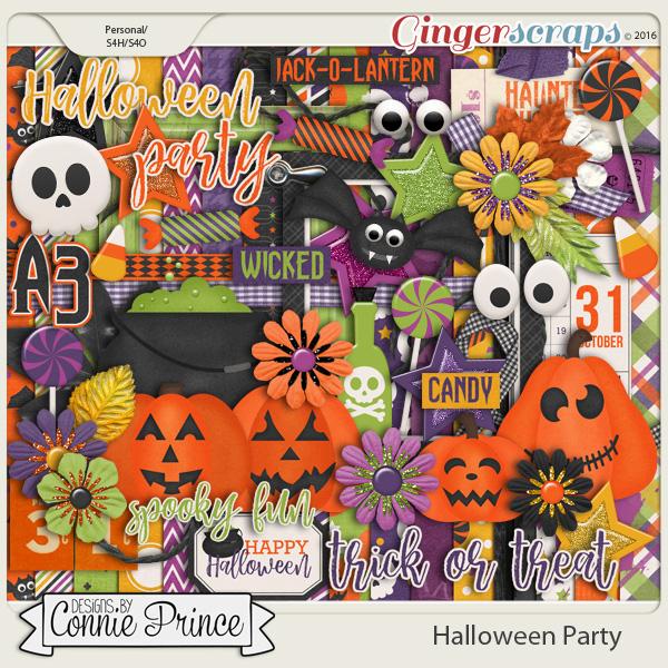 Halloween Party - Kit