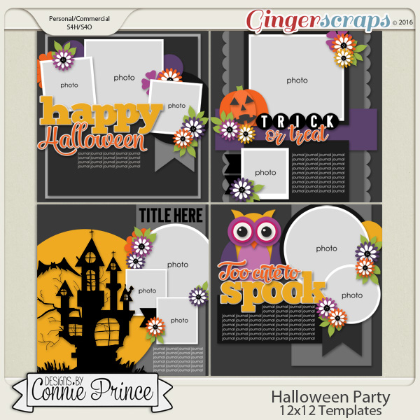 Halloween Party - 12x12 Temps (CU Ok)