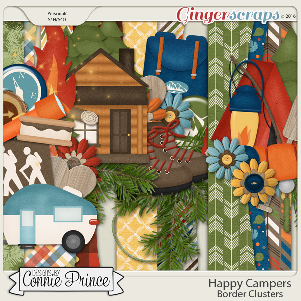Happy Campers - Border Clusters