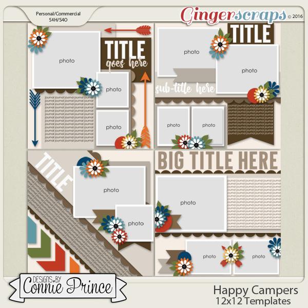 Happy Campers - 12x12 Temps (CU Ok)